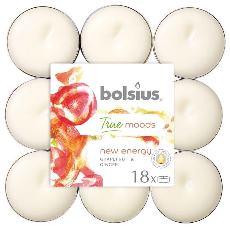 Bolsius 4 Hour Tealights - New Energy Pack 18